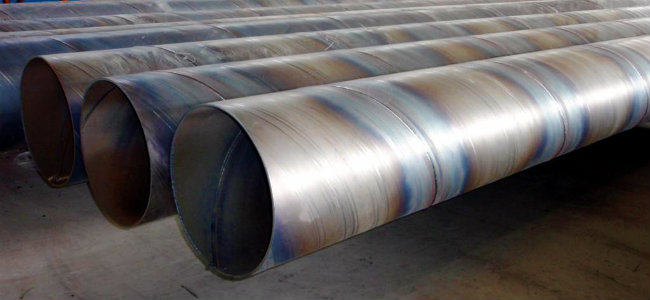 X65 spiral welded pipes