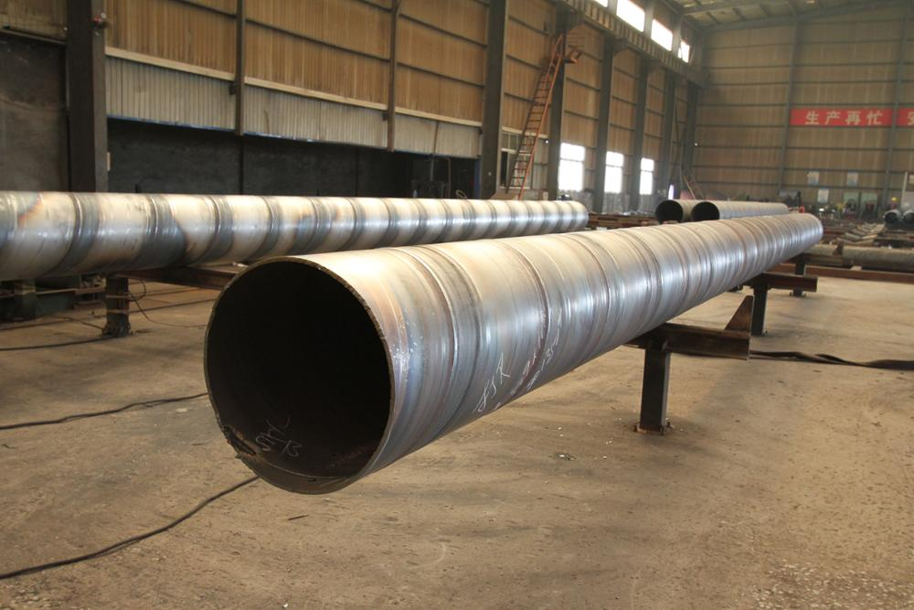 X70 spiral welded pipes